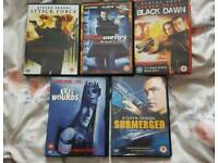 Steven Seagal DVDs