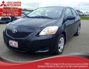 2012 Toyota Yaris 4-Door - only $127 B/W