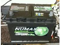 NUMAX CARAVAN LEISURE BATTERY