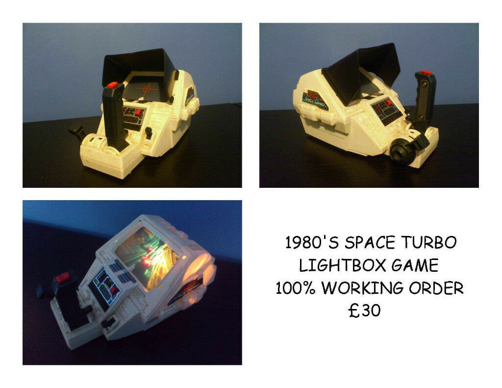 80'S SPACE TURBO ARCADE GAME