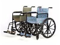 Stunning Designer Wheelchairs in Harris Tweed or Liberty of London Prints