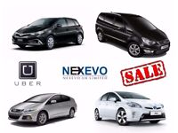 RENT hire Uber/Minicab ready PCO Hybrid cars 5/7 seaters hire From £99/week.