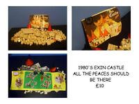 1980'S LEGO STYLE CASTLE RARE