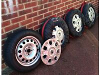4 x PIRELLI SNOWCONTROL WINTER TYRES FOR MINI