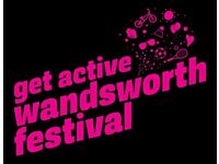 Volunteer at the 2017 Get Active Wandsworth Festival