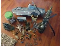 Military helicopter plus extras