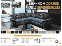 stylish shannon black corner