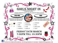 Girls Night In - Friday 24th March