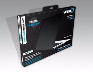 Versifli Black Mac Book Pro A1278 Pro 13.3 in Smooth Hard Shell Case