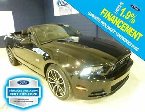 2014 Ford Mustang GT,GPS,FORD CERTIFIE 1.9%