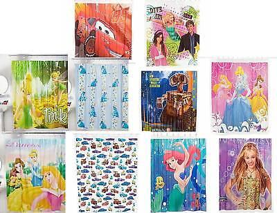 Disney PRINCESS ARIEL EEYORE TINKERBELL Shower Curtain (Tinkerbell Shower Curtain)
