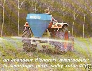 farm equipment brochure sulky rotor 400 epandeur d. Black Bedroom Furniture Sets. Home Design Ideas