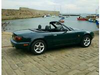 Mazda mx5 mk1 low mileage 1yr MOT