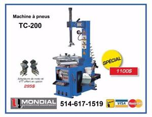Machine a pneu Demonte Pneu Machine a tire Balanceur de roue Machine a Balancer Tire changer Wheel Balancer Lift Hoist