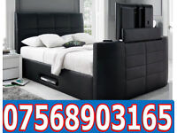 BED BRAND NEW ELECTRIC TV BED AND STORAGE 0