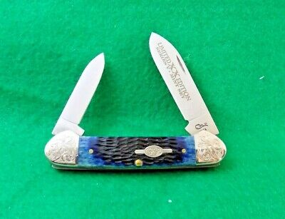 1998 CASE XX USA LIMITED EDITION SERIES V MINT SET CANOE KNIFE;NR 1 / 250