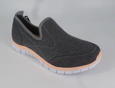 Cushion Walk Slip On Leisure Shoe's Grey Size UK 5 EU 38 NH085 WW 08