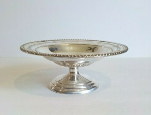 "Birks Canadian Sterling Silver Reticulated 7.5"" Compote, 218 grams"