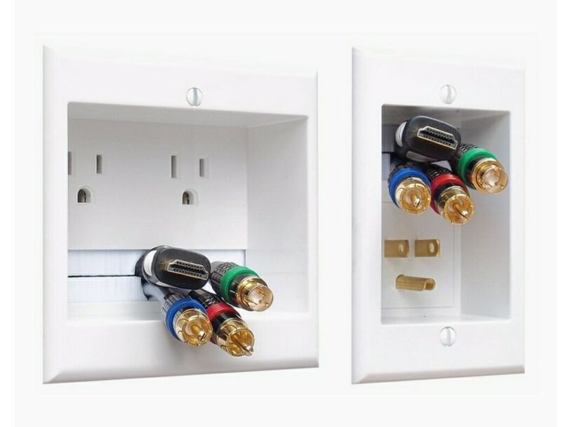 PowerBridge In-wall Power and Cable Management Kit for Wall Mounted TV