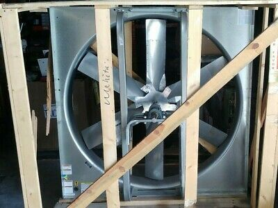 Dayton 48 Belt Drive Exhaust Fan Model 1wdc4 Less Drive Package 162618