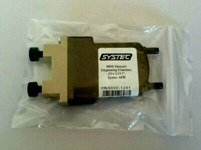 New Systec Mini Degasser Vacuum Chamber 23 X 0.011 Pn 9000-1281 Systec Af