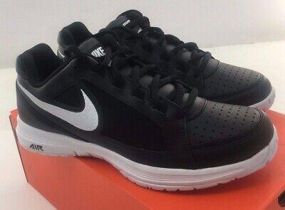 New NIKE Air Vapor Ace Men's Tennis Shoe  -  724868-012 Blk/Wht Size 7 & 10.5