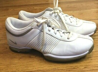 Womens NIKE DELIGHT II White Soft Spike Golf Shoes Size 6.5 Womens Delight Golf Shoes