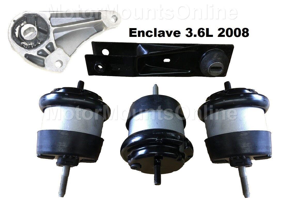 9R3153S 5pc Motor Mounts fit Engine 3.6L SUV 2008 Buick Enclave w/VACU