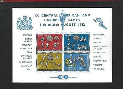 Jamaica sc#200a (1962) Souvenir Sheet MNH