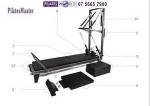 PILATES MASTER Aluminium Reformer Half Trapeze Helensvale Gold Coast North Preview