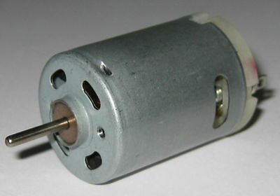 Rs-385 Rc Model Submarine Electric Motor - 12v Dc - 17000 Rpm - 2.3mm Shaft Dia