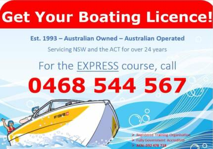 ACT Boat Licence