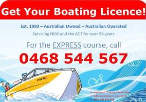 Canberra Boat Licence Canberra City North Canberra Preview