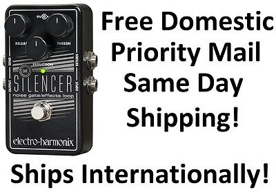 New Electro Harmonix Ehx Silencer Noise Gate   Effects Loop Guitar Pedal