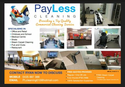 PayLess Comeercial Cleaning Service Silverwater Auburn Area Preview
