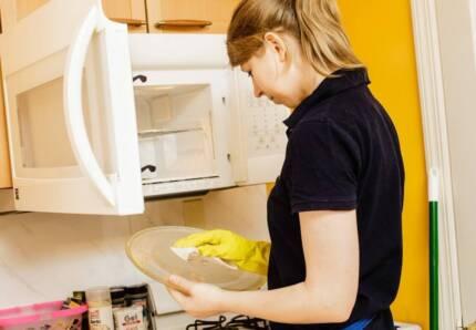 Housekeeper and cleaning lady, optional washing, folding, ironing