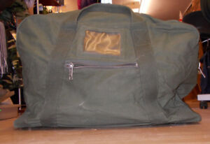 fbc05d10fd9 Genuine British Army Issue Vintage Heavy Duty Canvas Holdall Kit Bag