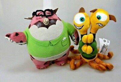 Monsters University Don Carlton und Terri & Terry Disney Pixar Plüsch Figuren (Monster University Spielzeug)