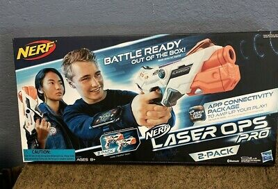 Nerf Laser Ops Pro AlphaPoint 2-Pack Kids Lazer Tag Indoor Outdoor Game NERF