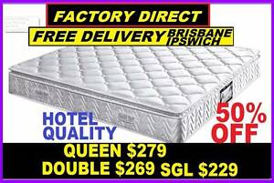 BRAND NEW MATTRESS Queen, Double, Single Pillow Top 50% OFF Ipswich Region Preview