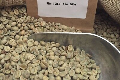 14# BRAZIL SANTOS UNROASTED GREEN COFFEE BEANS. NEW Advent 10/17. SHIPS FREE