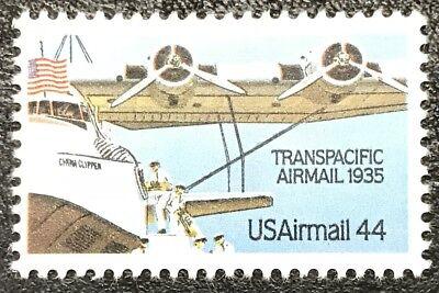Usado, 1985 Scott #C-115, 44¢, AIRMAIL - TRANSPACIFIC  - Single - MINT NH -   comprar usado  Enviando para Brazil