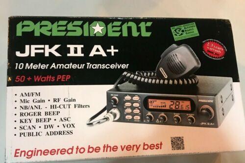 President Electronics JFK II A+ Ham Amateur Radio Transceiver