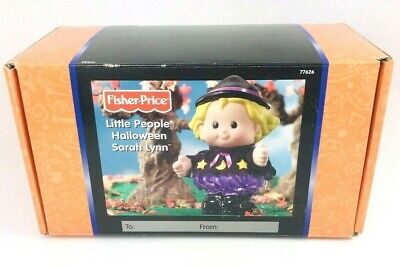 Fisher-Price Little People Sarah Lynn Halloween Witch Doll With Sounds