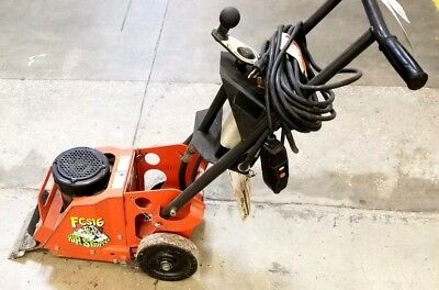 General Equipment Fcs16 Electric Floor Stripper Scraper Tile-choice Of Blades