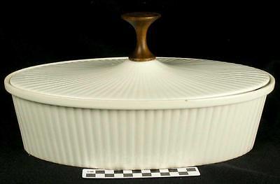 Vintage Mid Century Modern Ernest Sohn Creations White Casserole & Lid (John(HH)