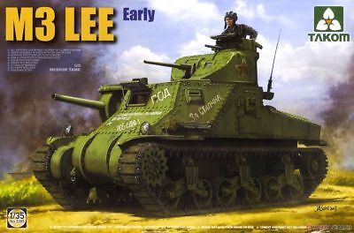 1/35 Takom US M3 Lee Early #2085 for sale  Shipping to Canada