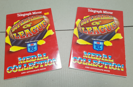 NSWRL Collectable Coins Superstars of League 1991