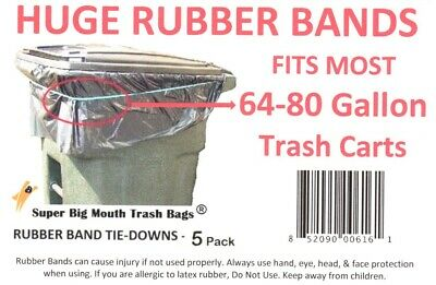 Super Extra Large RUBBER BANDS Tie-Downs for 64/65/68/70/80