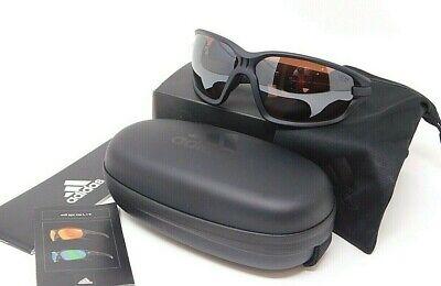 ADIDAS EVIL EYE EVO BASIC L 10/75 9500 SUNGLASSES Matte Black/ Brown (Sunglasses Adidas)